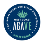 West coast agave logo round