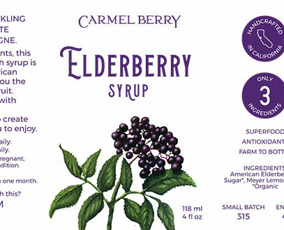 Elderberry Syrup 4 Oz.