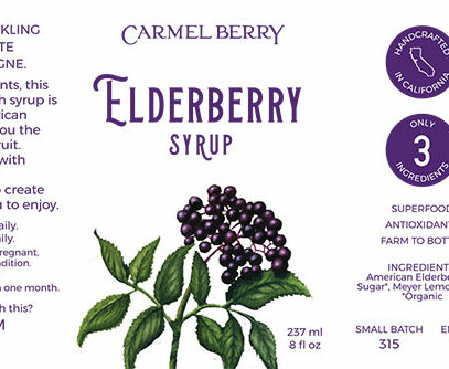 Elderberry Syrup 8 Oz.