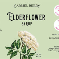 Elderflower Syrup 4 Oz.