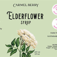 Elderflower Syrup 8 Oz.