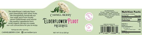 elderberry pluot product label