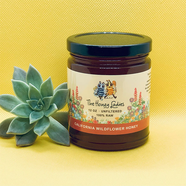 California Wildflower honey 12 oz