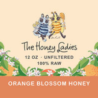 Orange Blossom Honey 12oz.