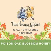 Poison Oak Honey 12oz.