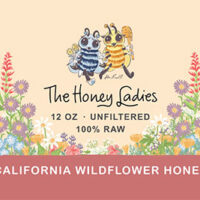 California Wildflower Honey 12oz.