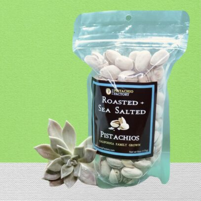 Roasted Salted Pistachios 6oz. bag