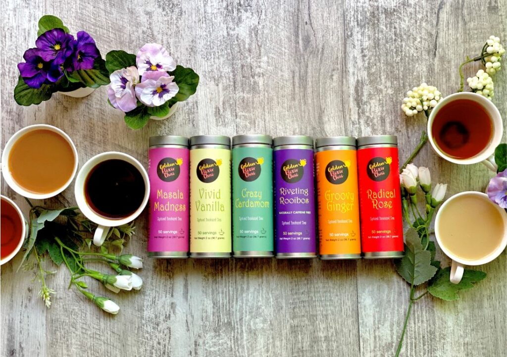 image of the Golden Elixir Chai collection